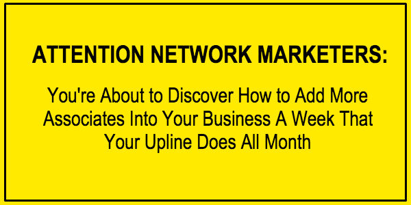 Attention Network Marketer